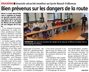 securite routiere article jdc jeudi24mars2016