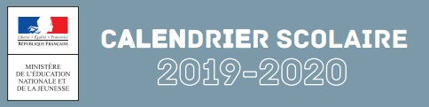 calendrierscolaire2019 2020